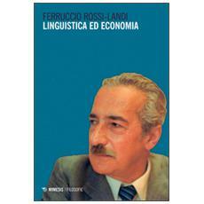 Linguistica ed economia
