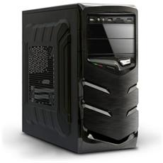 Case Aria A 66 Midi Tower ATX Micro-ATX Colore Nero