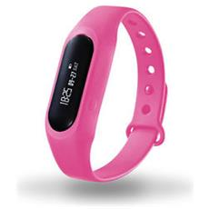 Braccialetto Fitness Contapassi Calorie Sleep Monitor Pdm1106 Rosa