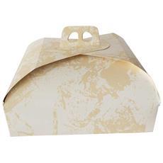 Scatola Torta Quadrata 36x36 Cm In Carta 1 Pz