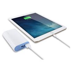 Powerbank da 5200 mAh 1x USB supporta fino a 5V / 2.4A per iOS e Android
