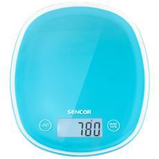 Bilancia Digitale da Cucina Portata 5 Kg Colore Blu