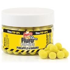 Boilies Fluro Pop-ups 10 Mm Pineapple & Banana Unica Giallo
