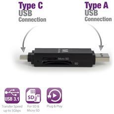 Lettore schede di memoria EW 1075 Interfaccia USB 3.0