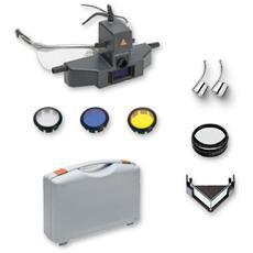 Set Oftalmoscopio Heine Sigma 250 Montato Su S-frame Completo Di Accessori, In Valigetta