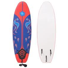 Tavola Da Surf Blu E Rossa 170 Cm