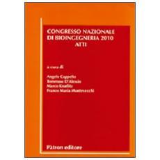 Atti del congresso nazionale di bioingegneria (2010)