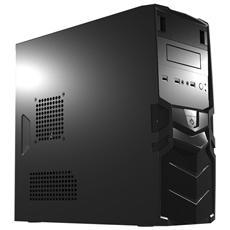 Case Mini Tower ATX / Micro-ATX / Mini-ITX 1 Porta USB 3.0 Colore Nero