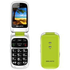 "Sileno 41 Verde Display 2.4"" +Slot MicroSD SOS Radio FM Bluetooth Fotocamera"