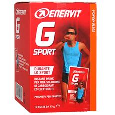 G Sport 10 Buste Arancia