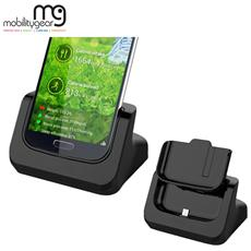 Case-friendly Desktop Sync And Charger Usb Cradle For Samsung S4 With