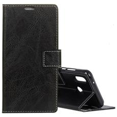 Custodia Portafoglio Finta Pelle Per Smartphone Asus Zenfone 5 Ze620kl / 5z Zs620kl