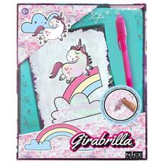 Girabrilla Nice Unicorno Magico Diario, Multicolore, 2519