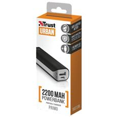 Power Bank Primo 2200 mAh Colore Nero
