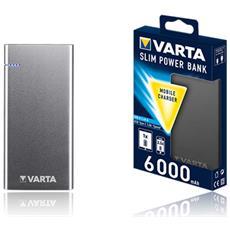 57965101111 Polimeri di litio (LiPo) 6000mAh Nero batteria portatile