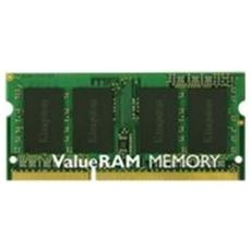 Memoria SoDimm ValueRam 4GB (1 x 4GB) DDR3 1333MHz Non-ECC CL9