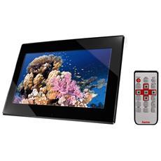 """Cornice Digitale """"Slimline"""" Display 15.6"""" Formato 16:10 Lettore SD / SDHC / MMC / MS / Mini USB Memoria Interna 2GB Colore Nero"""