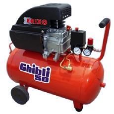 Compressore Brixo da 50 lt automatico per lavori di fai da te