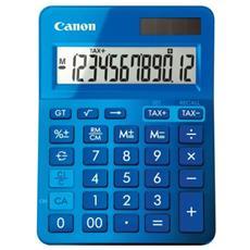 CALCOLATRICE CANON LS-123K Blu 12 Cifre LCD