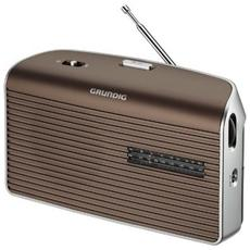 Radio Portatile Music 60 GRN1550 - Marrone / Argento