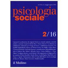Psicologia sociale (2016) . Vol. 2