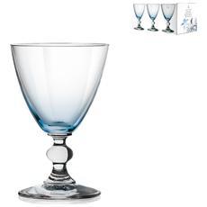 Confezione 6 Calici In Vetro Splendor Cielo Vino 17 Calici Vino Bicchieri Tavola