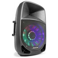 Cassa Amplificata Attiva 700w Woofer 38 Cm Bluetooth Usb-sd + Led Art 178105