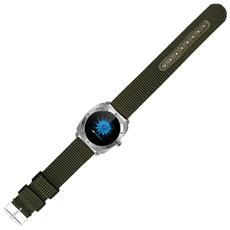 "Smartwatch Pan Feel LED 1.22"" Bluetooth per Fitness Colore Verde - Italia"