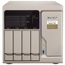 NAS Turbo TS-677-1600-8G 6 Slot 2.5' / 3.5' SATA Interfacce 4 x Gigabit Ethernet / 6 x USB 3.0 / 2 x USB 3.1
