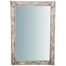 Specchio Da Parete In Legno Massello L60xpr3xh90 Cm