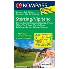 Carta escursionistica n. 44. VipitenoSterzing. Adatto a GPS. DVD-ROM. Digital map