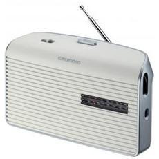 Radio Portatile Music 60 GRN1520 - Bianco / Argento