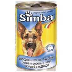 Simba Cane, Bocconi Pollo Etacchino Gr 1230