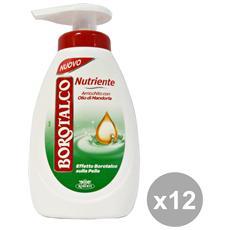 Set 12 Sapone Liquido Nutriente 250 Ml Saponi E Cosmetici