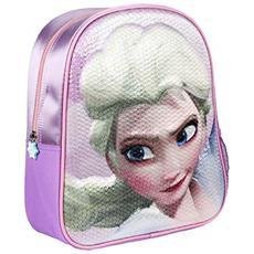 Zainetto Bambino 3d Frozen Zainetto Per Bambini, 31 Cm, Viola (morado)