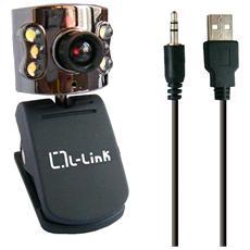 LL-4184, 5 MP, USB 2.0, Nero, Clip / Stand