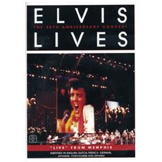 Dvd Presley Elvis - Elvis Lives-the 25th