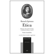 Etica. Edizione critica del testo latino