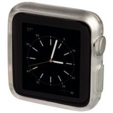 1x2 protezione Crystal Apple Watch 38mm trans / blu