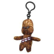 Star Wars - Portachiavi Peluche Chewbacca 8 Cm