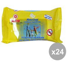 Set 24 Salviette Antipuntura X 10 Pz Articoli Per I