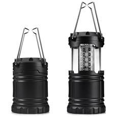 Lanterne Da Campeggio A 30 Led Pieghevoli Ultraluminose Per Emergenze
