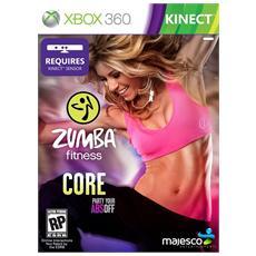 X360 - Zumba Fitness Core (Software per Kinect)