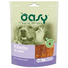 Snack per Cani Filetto di pollo 100 gr