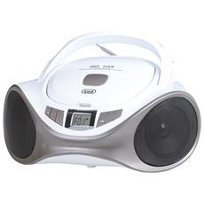 Stereo Portatile Boombox CMP 531 CD / Mp3 / USB / Aux-in - Bianco