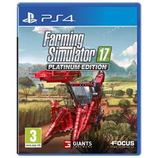 PS4 - Farming Simulator 2017 Platinum Edition