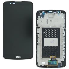 Ricambio Lcd Display + Touch Screen Unit Nero Originale Per Lg K10 K410 K430 Kit