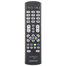 Telecomando Universale Pre Programmato per TV e Decoder Pratico 2 Light