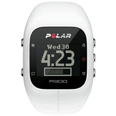 A300 Orologio Fitness e Activity Monitor Bluetooth con Cardiofrequenzimetro Calorie e Sonno - Bianco