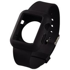 Cinturino silicone per Apple Watch 38mm - Nero